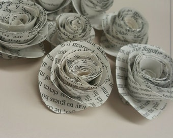 18 Book page rosettes