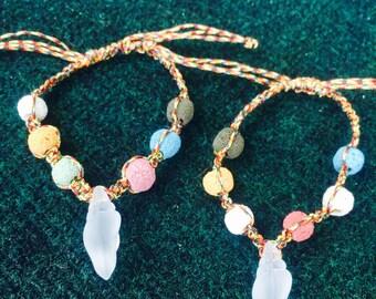 Shell couple bracelets