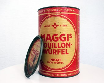 Maggi metal box
