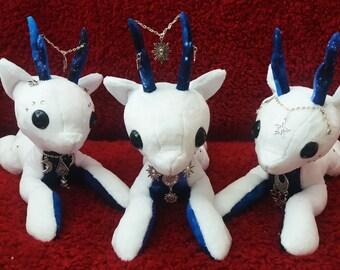 White Patchwork Reindeer - Galaxy