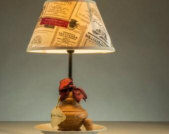 Balluster decor lamp