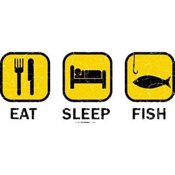 Eat sleep fish by mychristianshirts on etsy for How do fishes sleep