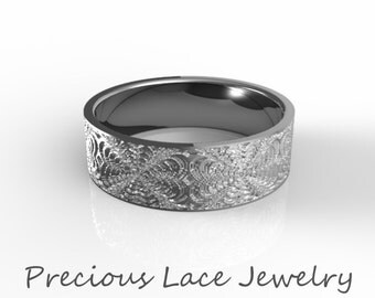 Men's Platinum Wedding Ring, Platinum Wedding, Men's 950 Platinum Wedding Band, Unique Platinum Wedding Ring w/Textured Design
