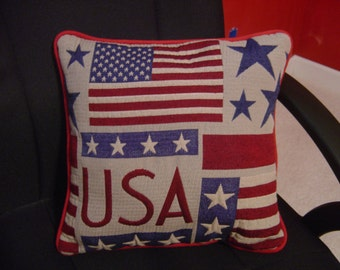 Throw Pillow from a Throw