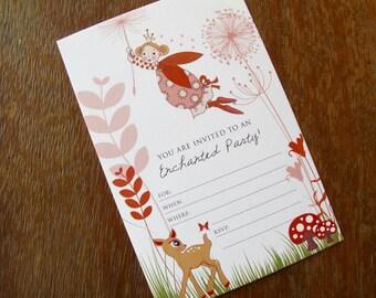 Enchanted Fairy - Printable Invitation