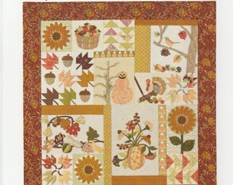 A Graceful Stitch Pattern - Love the Applique Pieces!!  by Denise Sheehan