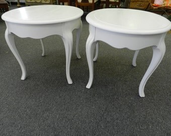 Perfect White French Side Tables