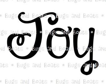 Joy SVG and DXF files