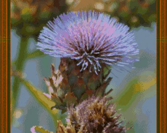 THISTLE DO- sampler cross stitch chart