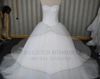Ball Gown Gypsy Wedding Dress