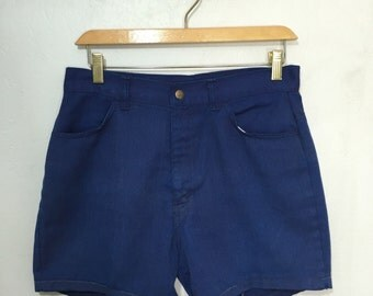 vintage levi's big e shorts talon zipper size w30