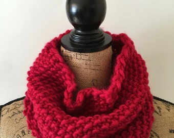 Cozy Cowl - Red