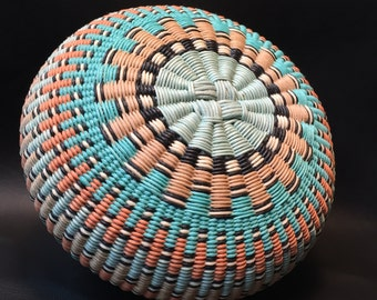 Admiration by Twisted Spokes : Hand Woven Basket, Twined Basket
