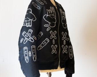Finger Jacket (Black)