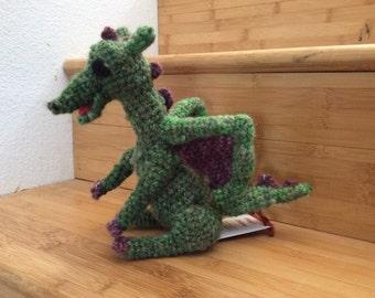 Green/purple dragon