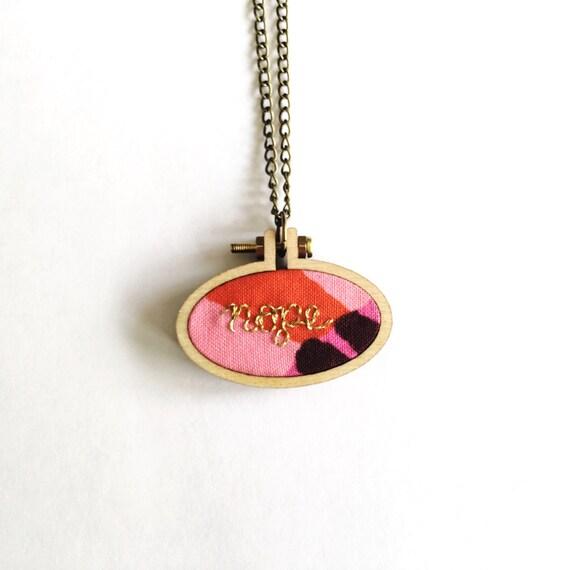 DIY Jewelry/Mini Embroidery Hoops/Pendants/Horizontal Oval Mini Hoop/3 Pack Embroidery Hoop ...
