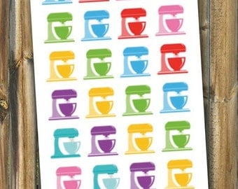 Mixer Planner Stickers