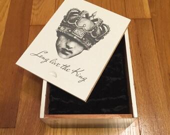 Upcycled Cigar Jewelry Box