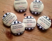 TOON TOWN (Newcastle, UK) Badges / Buttons / Magnets - buy 3 get 1 free!!