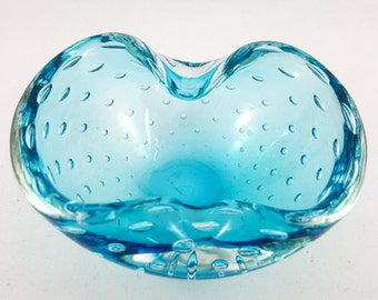 Small Turquoise Bubble Bowl