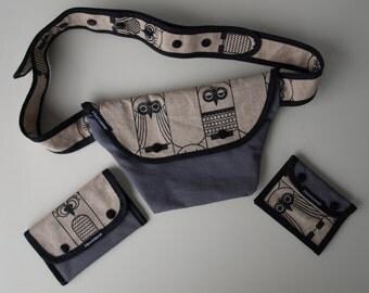 Belt bag - purse - key Pocket