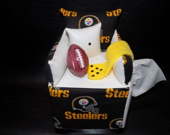 Steelers Tissue Box Etsy