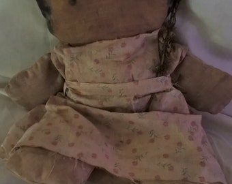 early style primitive doll