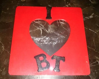I  LOVE BT Picture Frame