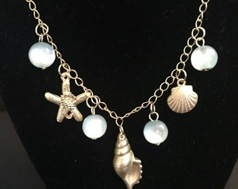 Beautiful Handmade Sea Shell Necklace