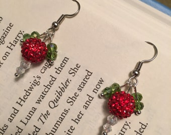 Mini-Dirigible Plum Earrings - Luna Lovegood inspired