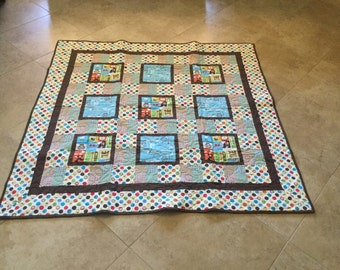 What's cooking Quilt. 61x61