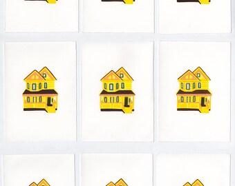 Tiny House Screenprint