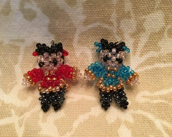 Chinese twin girl doll pendents