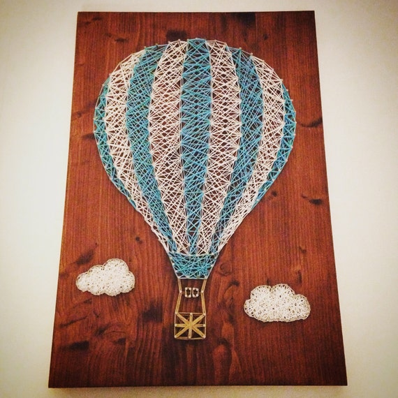 Items similar to balloon string art on etsy - String art modele ...