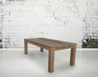Dining Table, Table, Reclaimed Wood, Kitchen Table, Industrial, Hand Made
