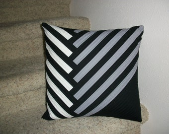 Comtemporary Quilted Pillow