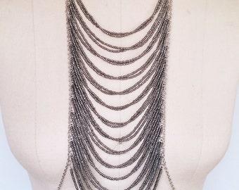 Silver Multi-Layered Body Jewelry