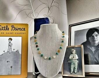 Jade on Jade necklace