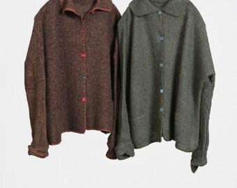 Handmade Cotton Sweater