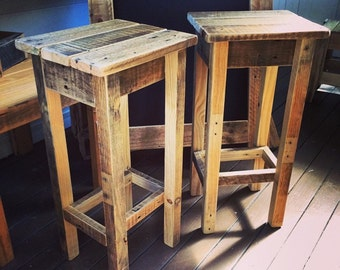 Pallet Bar Stool - Shipping NOT Included