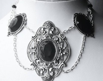 Mourn Gothic Necklace