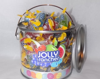 American jolly ranchers Easter gift pot