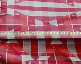 Brocade - Super Bazin Riche - 7 Stars - Cubicles - 100% Cotton