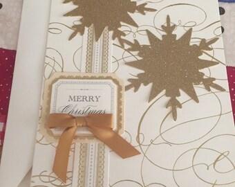 Hand Made Pop Up Christmas Card Merry Christmas