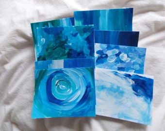 Hand painted Greeting Card- Set of 8