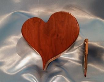 Valentine heart, keepsake, trinket, jewelry Box