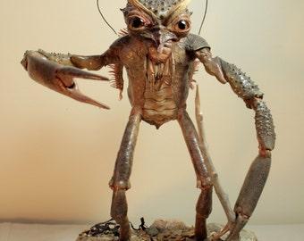 Crab Man (rogue taxidermy gaff)
