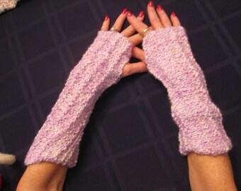 Lilac Arm Warmers
