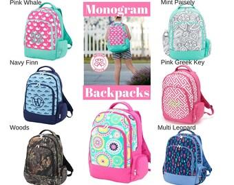 Monogram Backpacks/ Personalized Kids backpacks/ Monogram napsack/ Monogram girls backpack/mongram boys backpack/kids book bag, summer camp