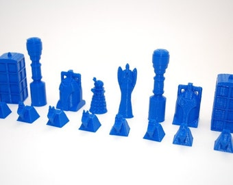 Doctor Who Chess Set ,